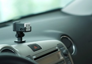 What are the benefits of having an in-car camera?