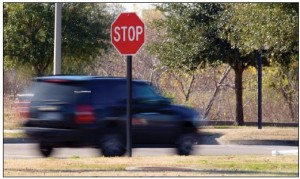 Learn How To Avoid Stop Sign Violation
