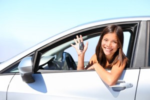Learn to practice all the necessary skills that your driving school instructor taught you.