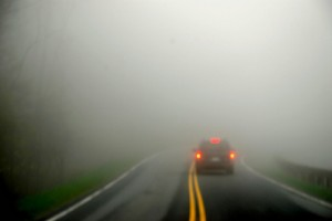 Learn what to do in driving safely in fog