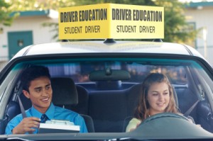 Learn on how to drive in a driving school
